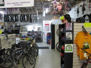 Thanks to the Pauwels family, the shop is well equipped. Photo courtesy of All About Bikes