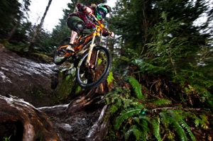 Whatcom County, quickly becoming a mountain bike mecca. Photo courtesy of Matthew Shelton / WTC