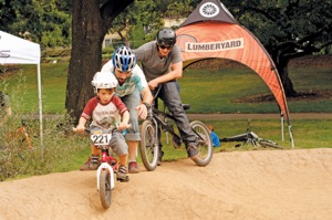 Kids of all ages have a blast at Take a Kid Mountain Biking Day. Photo by NW Trail Alliance