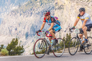 Prepare adequately to avoid overuse injuries and attend rides such as the Crater Lake Century on August 15. Photo courtesy of Brian C. Gailey
