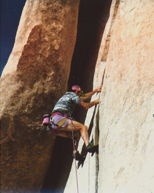 A climbing escapade to Yosemite inspired the author to combine biking and hiking into a sea-to-summit climb. Photo courtesy of Peter J. Marsh