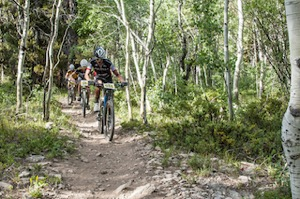 Crested Butte Bike Week racers, courtesy of CBBW/Trent Bona