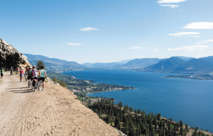 Located in one of the most scenic regions in British Columbia, the Okanagan Trestles Tour (July 4, 2015) offers multiple photo opps. Photo courtesy of Glenn Bond / Okanagan Trestles Tour