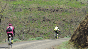 Goldendale's course — the faster you went, the harder it got. Photo courtesy of Vicious Cycle / Chance Flanigan