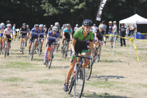 Women's participation in cyclocross events in the Northwest and nationally is on the rise. The fun factor may have something to do with it. Photo courtesy of Woodinville Bicycle