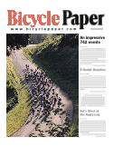 2001-3 Bicycle Paper